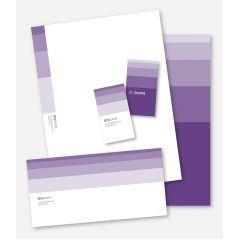 スタイリッシュなデザインカード ベクター素材
