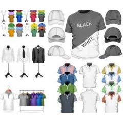 Tシャツデザインのテンプレート素材 ベクター