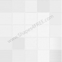 100種類のジグザグパターン素材 フォトショップ用