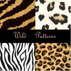 動物の毛並みを表現できるパター フォトショップ素材