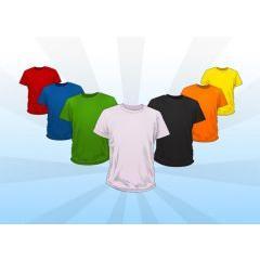 Tシャツデザインのテンプレート! フォトショップPSD素材