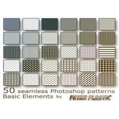 基本的なグリッでデザイン Photoshop パターン素材