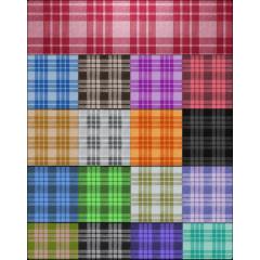 カラフルなタイルデザインテクスチャ フォトショップ素材