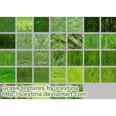 草ばかりを集めたフォトショップパターン素材