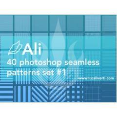40種類のスクリーントーンパターン素材