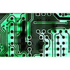 アートのような電子回路テクスチャ素材