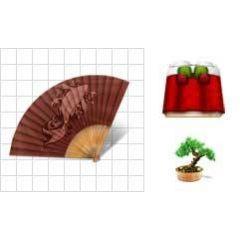 日本の伝統あるアイコン素材