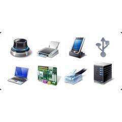 ハードウェア&デバイスのアイコンセット
