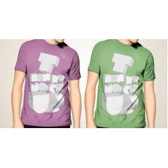 Tシャツのモックアップテンプレート フォトショップPSD素材