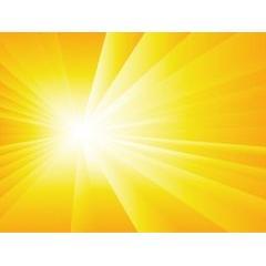 太陽の輝き夏の背景ベクター素材