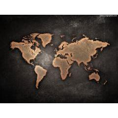 デザインがCoolすぎる世界地図 jpg素材