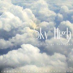 果てしなく高い空の風景 写真素材