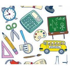 キャラクターのように可愛い学校イラスト ベクター素材