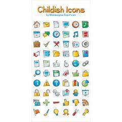 子供用サイトに使えるかわいいアイコンセット