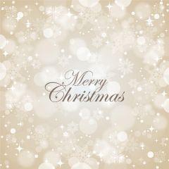 銀色をベースにしたホワイトクリスマス ベクター素材