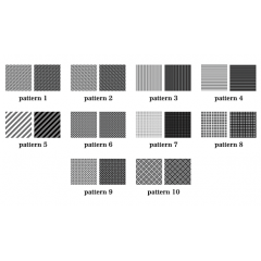 シンプルだからこそ使える!! photoshop パターン  musign Simple Patterns