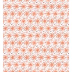 花びら模様のシームレスパターン素材