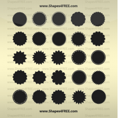 webデザインでかなり使える吹き出し フォトショップシェイプ素材。