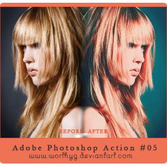 雑誌のような加工を自動でしてくれる photoshopアクション素材