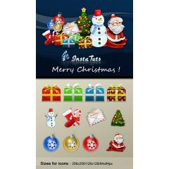 クリスマスに使えるかわいいアイコンセット