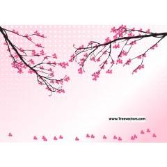 さあ!春ですよ!!桜をデザイン出来るベクター素材