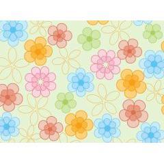 春気分を感じるスプリングパターン素材