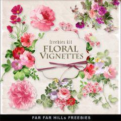 春に見たい!お花のフローラルテクスチャ素材