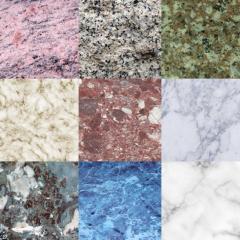 マーブル模様の大理石テクスチャのコレクション