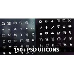 欲しかったもの全部ある!150種類のフォトショップ用webアイコン素材