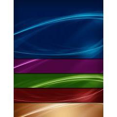 カラフルで抽象的なラインの背景画像
