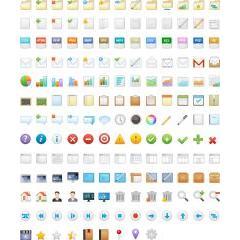 どんなデザインにも合う160種類のアイコン素材