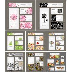 クリエイティブなグラフィックデザイン ベクター素材