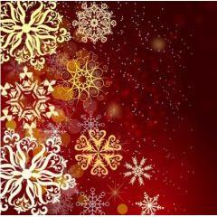 美しく高貴なレッドクリスマス ベクター素材