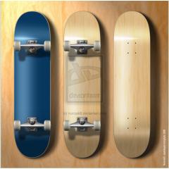 スケーター必見!カスタマイズに使えるスケートボード PSD素材