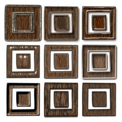 木材レイヤースタイル素材24種類