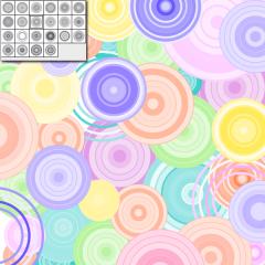 Illustrator用の円形ブラシセット