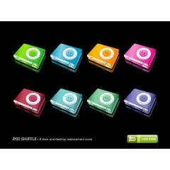 iPod Shuffle アイコンセット