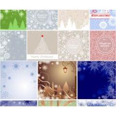 ポップなデコレーションクリスマス ベクター素材