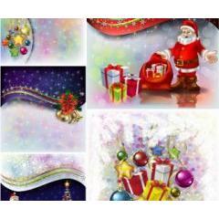 夢の中にいるような美しいクリスマスデザイン ベクター素材