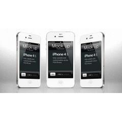 凄すぎる!完全に再現されたi Phone4S PSD素材