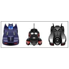 バットマンシリーズのバットモバイル