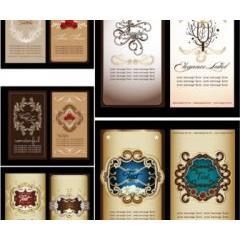 中世時代を感じさせる高品質なカード素材