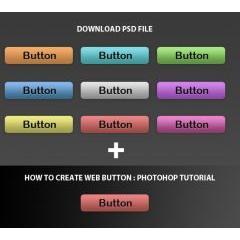 シンプルなのにとても存在感があるwebボタン チュートリアルサイト