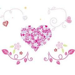 茶目っ気たっぷり可愛いバレンタイン素材