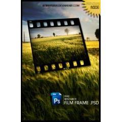 写真、映像のフィルムのような質感が出せるPSD素材