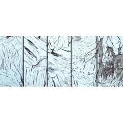 壊れた表面も逆にクリエイティブなホワイトウッドテクスチャ素材
