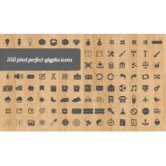 350種類ものアイコン素材 しかも凄く質がいい!